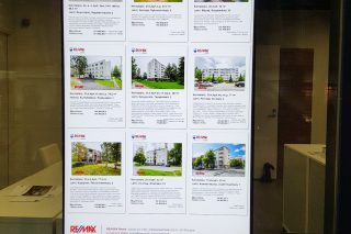 Home advertisement updates on the digital screen