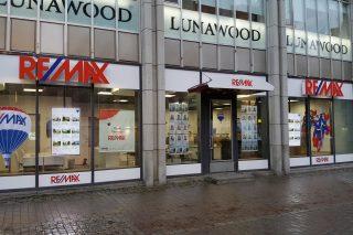 Remax digital signage in Lahti